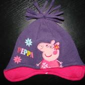 деми шапка Пепа Пиг George 1-3 года 48-50 см  как новая