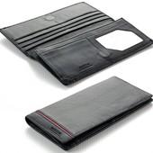 Мужской кожаный кошелек купюрник Boston на магните В наличии разные модели