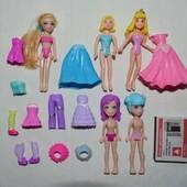 Mattel Polly Pocket Полли Покет разные куколки куклы в одежде и без аксессуары Аврора