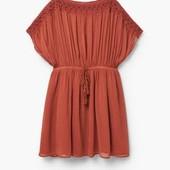 Кружевное платье Mango оригинал Испания размер М-Л