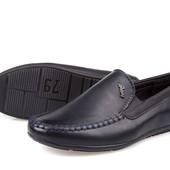 Туфли мокасины школа К855