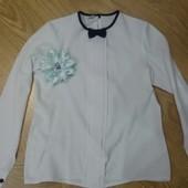 Школьные блузки на девочку 7-9 лет