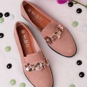 Стильные удобные женские туфли