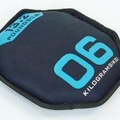 Мягкий диск гантеля Sand Bells 5718-6: вес 6кг, диаметр 26см
