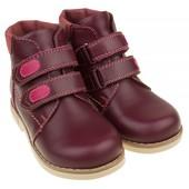Ортопедические ботинки «Элли» на флисовой подкладке.
