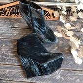 Новые бархатные ботинки Topshop р-р 37