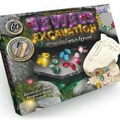 Набор для проведения раскопок Камни горный хрусталь jex-01-01/02 данко тойс Jewels Excavation