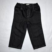 Джинсы черные Marks&Spencer мальчику на 1,5-2 года, рост 90 см