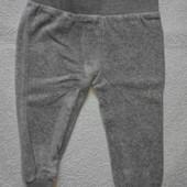 Impidimpi Велюровые штанишки на 74-80 см Германия.
