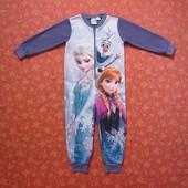 Флисовый человечек на 3-4 года Frozen (Холодное сердце) Анна, Эльза, Disney, б/у.