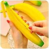 Силиконовый пенал Банан в наличии.