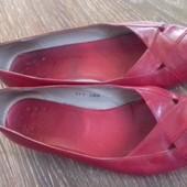 Кожанные туфли босоножки от Vero Cuoio. Производитель Италия. Полностью кожанные снаружи и изнутри.