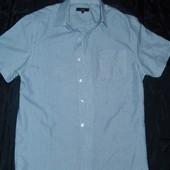 Легкая мужская рубашка,р-р S от Debenhams,сток