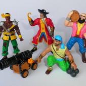 Фигурки ELC пираты пират пушка