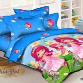 Детское постельное белье Ранфорс 3D