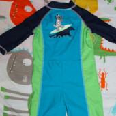 Купальный костюм Mothercare (до 2 лет)  + кепка для плаванья