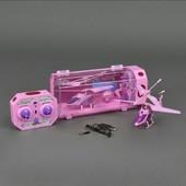 Вертолет радиоуправление для девочки розовый 33013