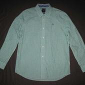 Crew Clothing (L) рубашка мужская натуральная