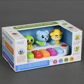 Пианино музыкальное для малышей на батарейках WD3713  в коробке