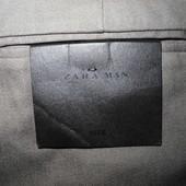Мужские брюки штаны серые элегантные Zara Man Eur 40