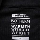 Мужская кофта спортивная термо черная Mountian Isotherm М