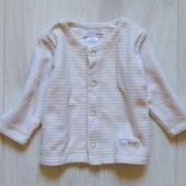 Стильная велюровая распашонка для маленького модника. H&M. Размер 2-4 месяца. Состояние: новой вещи