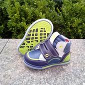 Ботинки демисезонные для мальчика фирмы Солнце р-р  24-15,7 см