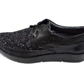 Туфли женские кожа Polin 22 Stael 3905