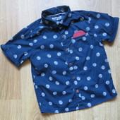 Стильная рубашка Next (2-3 года)