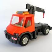 Дорожный автомобиль кран Playmobil конструктор машина плеймобиль