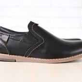 Туфли Multi Shoes кожаные, р. 40-45 код nvk-2691