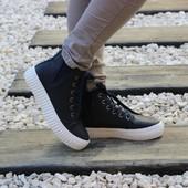 Ботинки на рифленой подошве Т316