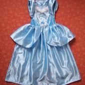 Продаю!!! 7-8 лет Карнавальное платье Золушка от Disney, б/у. Хорошее состояние