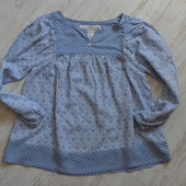 Легкая блуза на 4-5 лет