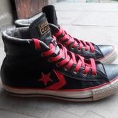Кеды ботинки Converse All Star оригинал кожаные размер 40, 25.5 см