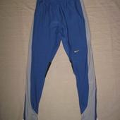 Nike (M/L) беговые эластичные лосины тайтсы мужские