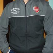 Спортивная оригинал фирменная мастерка кофта Arsenal ф.к Арсенал л
