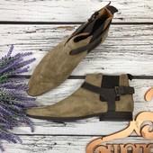 Стильные ботинки челси Asos с тройной пряжкой  SH3520