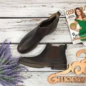 Мужские ботинки челси Redtape из натуральной кожи с винтажным эффектом  SH3529