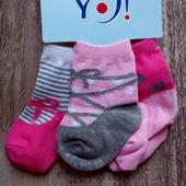 Носочки для новорожденных, дитячі шкарпеточки, Польща