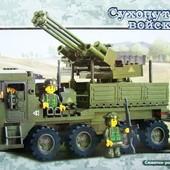 """Конструктор М38-В0302 """"Сухопутные войска 2"""" (306 дет.)"""