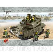 Конструктор Сухопутные войска.Танк серии АрмияSluban (В0305)