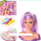Кукла для для причесок и макияжа 323-2