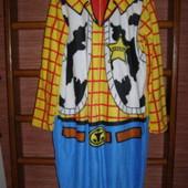 Пижама флисовая, размер М/L рост до 185 см