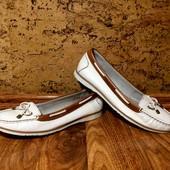 Новые кожаные мокасины Footglove