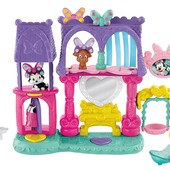 Fisher-Price Салон красоты для питомцев Минни disney's minnie mouse bowtique: pampering pets salon