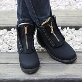 Ботинки 3 цвета Т238