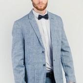 Пиджак светлый мужской на две пуговицы