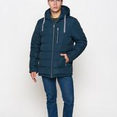 ◘ Новинка! Мужская зимняя куртка - 46-58 рр - утеплитель