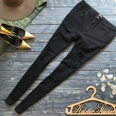 Идеальные джинсы скинни с прорезями Asos р-р Л